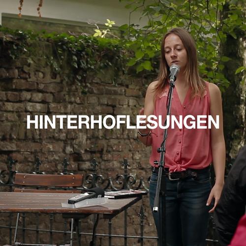 Hinterhof Lesungen 2014