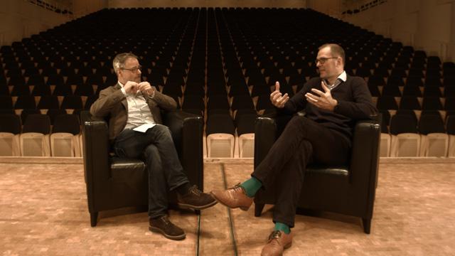 Im Gespräch: Prof. Dr. Holger Noltze und Benedikt Stampa